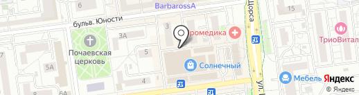 Пчёлка на карте Белгорода