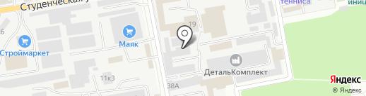 Спецпринт на карте Белгорода