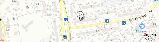 Префикс на карте Белгорода