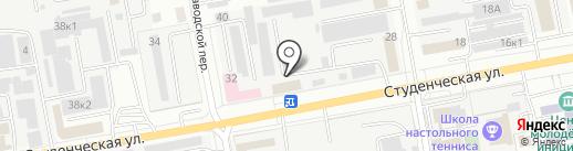 ПрофАвто на карте Белгорода