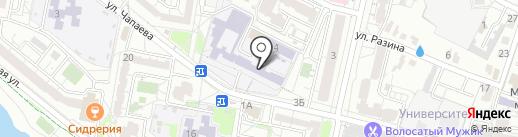 Библиотека №14 на карте Белгорода