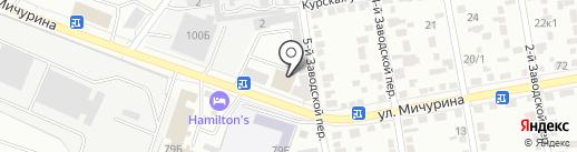 БелДомСтрой на карте Белгорода