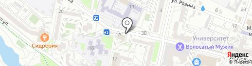 FitCurves на карте Белгорода