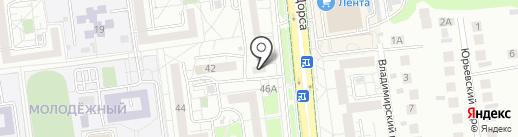 Ногтевая студия на карте Белгорода