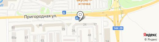 Red Line на карте Дубового