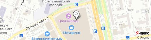 Mybox на карте Белгорода