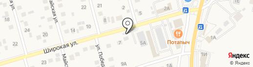 Руфмастер на карте Дубового