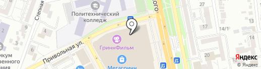 Anturage на карте Белгорода