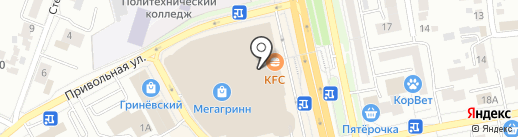 Ecola на карте Белгорода