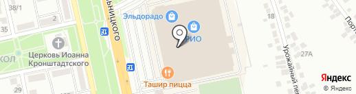 Пекоф на карте Белгорода