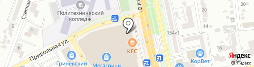 Serginnetti на карте Белгорода