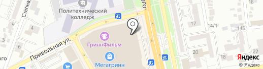 SARAFAN на карте Белгорода