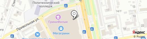 Флеш Бат на карте Белгорода