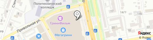 Кофейный комплимент на карте Белгорода
