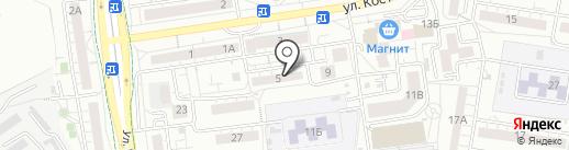 Библиотека №7 на карте Белгорода
