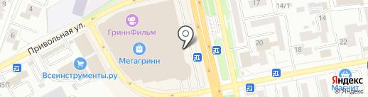 Зеркальный лабиринт на карте Белгорода