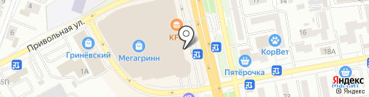 KooDoo на карте Белгорода