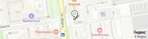 Салон итальянской кухни на карте Белгорода