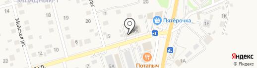 Гарант-Плюс на карте Дубового