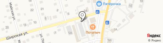 Печати5 на карте Дубового