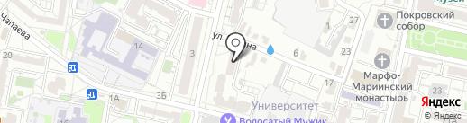 Адвокат Макошенко М.И. на карте Белгорода