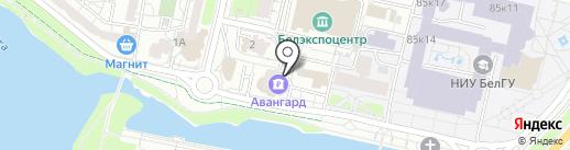 АКБ Авангард, ПАО на карте Белгорода