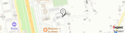 Автотехсервис на карте Белгорода