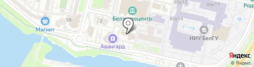 Бакшиш на карте Белгорода