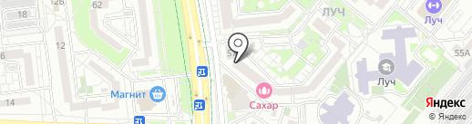 Стильная плитка на карте Белгорода
