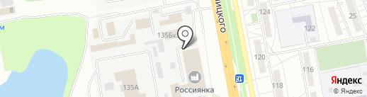 Белгородцентравто на карте Белгорода