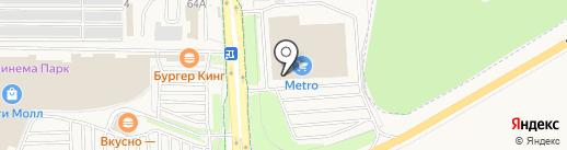 Media Markt на карте Дубового