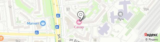 Мир НЕМАН на карте Белгорода