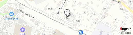 Вторцветмет на карте Белгорода