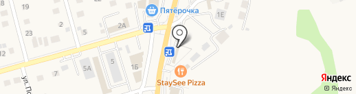 Моечка на карте Дубового