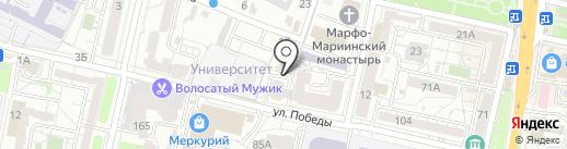 Юридический центр на карте Белгорода