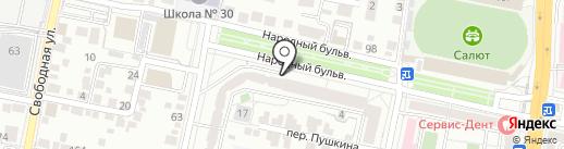 ЯМАЛ на карте Белгорода