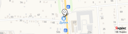 Дубки на карте Таврово