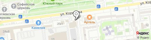 Моцарела на карте Белгорода