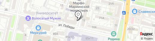 Интрига на карте Белгорода