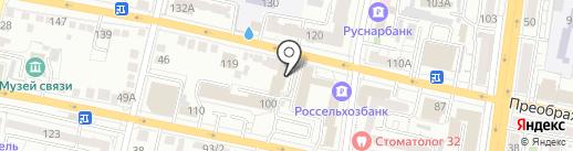 Чапаев на карте Белгорода