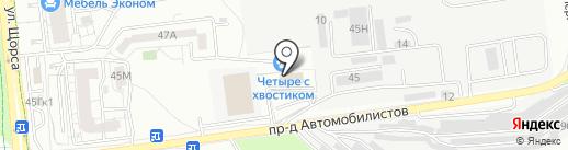 Белгородский центр по гидрометеорологии и мониторингу окружающей среды на карте Белгорода