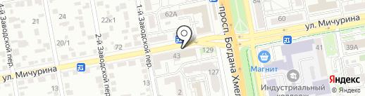 Белгородский государственный музей народной культуры на карте Белгорода
