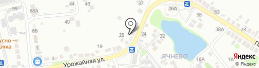 На Урожайной на карте Белгорода
