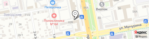 Faberlic на карте Белгорода