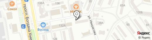 Библиотека №8 на карте Белгорода