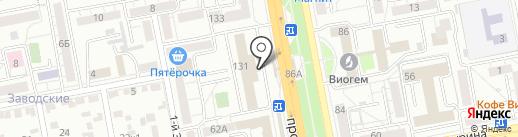 Титанбитстрой на карте Белгорода
