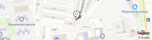 Клиника Евромед на карте Белгорода