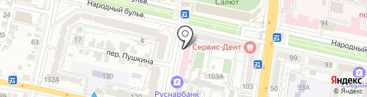 Здоровье на карте Белгорода