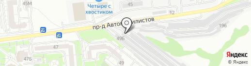 Автомобильные выхлопные системы-Запад на карте Белгорода