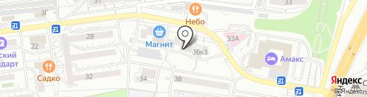 Людмила на карте Белгорода